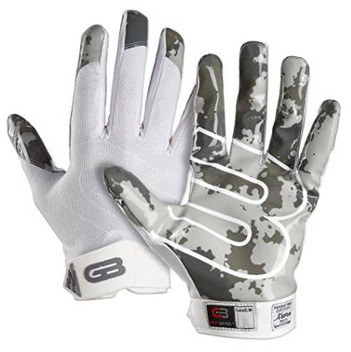 battle ultra-stick receiver gloves