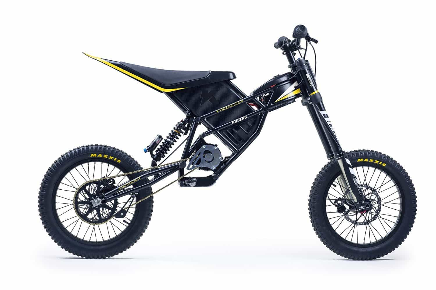kuberg freerider electric dirt bike